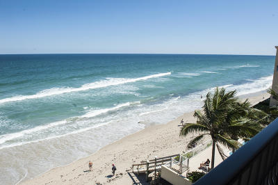 Condo For Sale: 4000 S South Ocean Boulevard #501