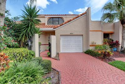 Boca Raton Single Family Home For Sale: 22712 Meridiana Drive
