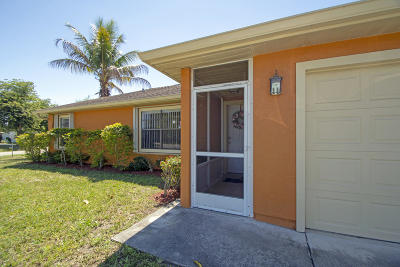 Port Saint Lucie Single Family Home For Sale: 298 NW Biltmore Street