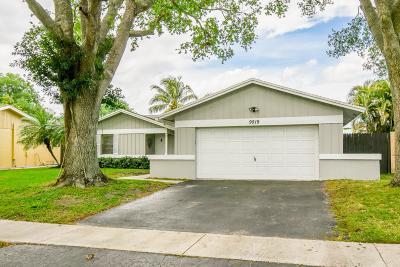Boca Raton Single Family Home For Sale: 9519 Saddlebrook Drive