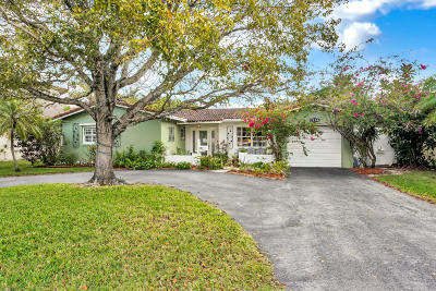 Fort Lauderdale Single Family Home For Sale: 2804 Coral Shores Drive