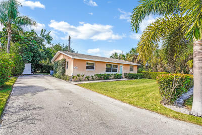 North Palm Beach Single Family Home For Sale: 1966 Redbank Road
