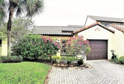 Boca Raton Townhouse For Sale: 452 Ashwood Place