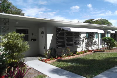 Delray Beach FL Single Family Home For Sale: $94,900