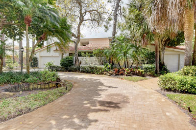 Delray Beach Single Family Home For Sale: 664 Lakewoode Circle W