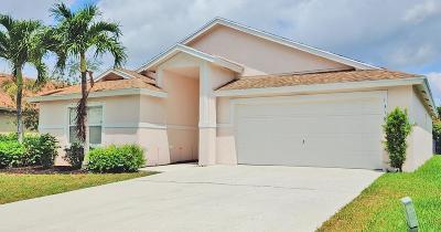 Greenacres Single Family Home For Sale: 1318 Monteray Way