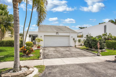 Delray Beach Single Family Home For Sale: 855 NW 21st Way
