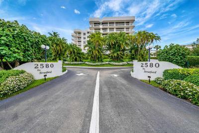 Palm Beach Stratford Condo, Stratford Condo For Sale: 2580 S Ocean Boulevard #1 B 3