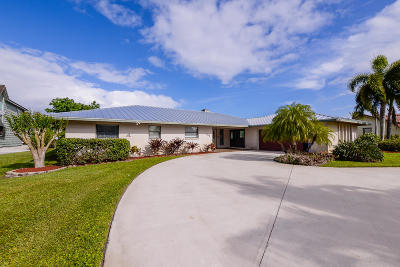 Port Saint Lucie Single Family Home For Sale: 651 SE Hidden River Drive