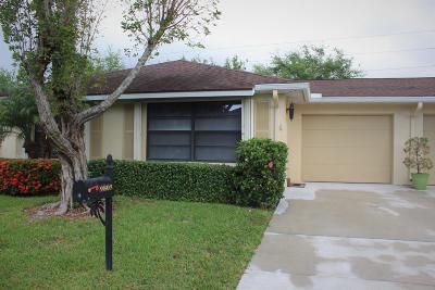 Boynton Beach Single Family Home For Sale: 9805 Pecan Tree Drive #A