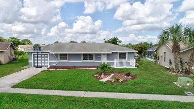 Boca Raton FL Single Family Home For Sale: $375,000