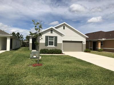 Port Saint Lucie Single Family Home For Sale: 5395 NW Pine Trail Circle
