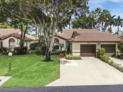 Boynton Beach Single Family Home For Sale: 5861 Sunswept Lane #A