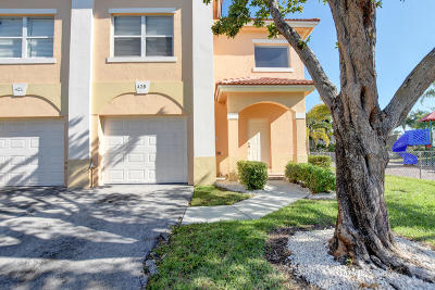 Palm Springs Townhouse For Sale: 425 Talia Circle