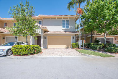 Stuart Townhouse For Sale: 909 SE Willoughby Trace