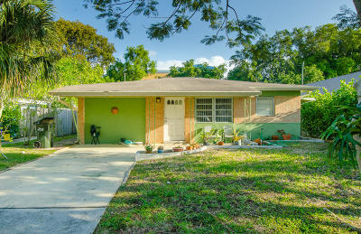 Delray Beach Single Family Home For Sale: 4823 Jefferson Road