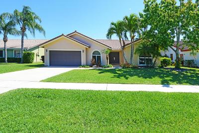 Boca Raton Single Family Home For Sale: 7880 Texas Trail