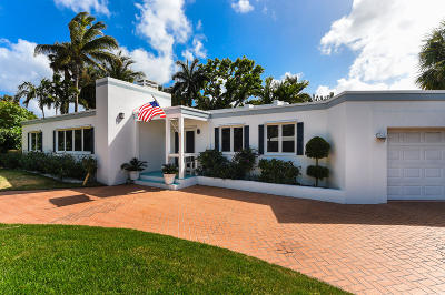 Palm Beach Single Family Home For Sale: 220 Onondaga Avenue