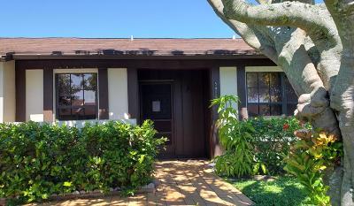 delray beach Single Family Home For Sale: 5436 Laurel Oak Street