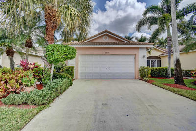 Boynton Beach Single Family Home Contingent: 9610 Cherry Blossom Court
