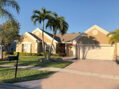 Boca Raton Single Family Home For Sale: 12075 Rockwell Way