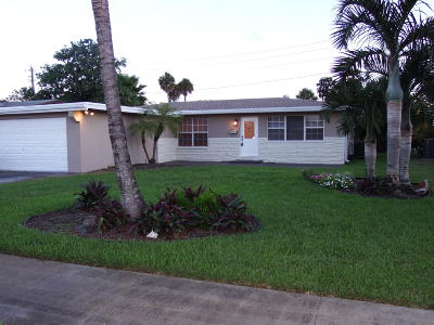 Wilton Manors Rental For Rent: 732 NW 28 Street