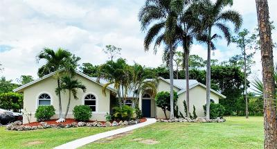 West Palm Beach Single Family Home For Sale: 12627 79th Court