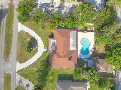 Boynton Beach Single Family Home For Sale: 3941 Tucks Road