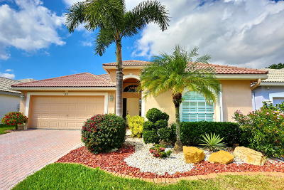 Delray Beach Single Family Home For Sale: 7671 Doubleton Drive