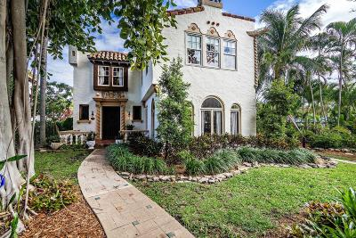 West Palm Beach Single Family Home For Sale: 505 32nd Street