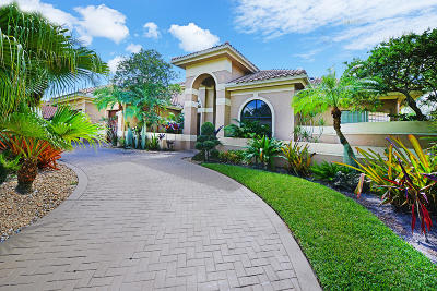 Boca Raton Single Family Home For Sale: 6694 Newport Lake Circle