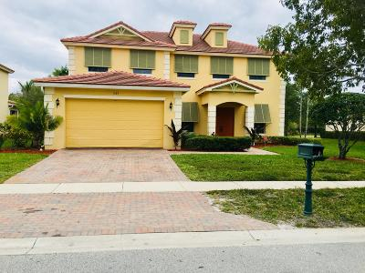 Royal Palm Beach Single Family Home For Sale: 489 Saint Emma Drive