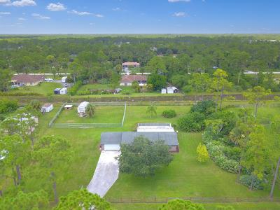 Loxahatchee Single Family Home Contingent: 16191 67th Court