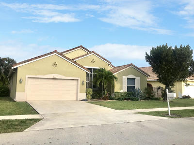 Boynton Beach Single Family Home For Sale: 9185 Cove Point Circle