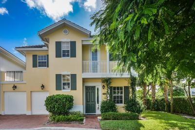 Delray Beach Townhouse For Sale: 1063 E Heritage Club Circle