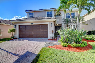 Boca Raton Single Family Home Contingent: 9416 Fox Trot Lane