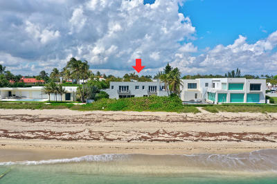 Palm Beach Single Family Home For Sale: 1047 S Ocean Boulevard