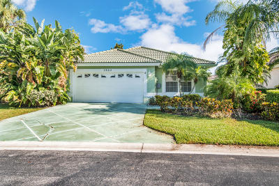 Greenacres Single Family Home For Sale: 2864 Waters Edge Circle