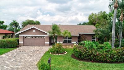 Boynton Beach Single Family Home For Sale: 4125 Alpinia Court