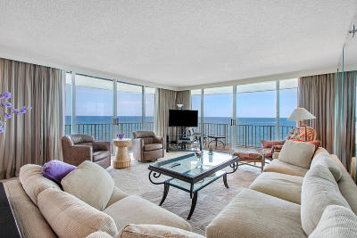 Palm Beach Condo For Sale: 3400 S Ocean Boulevard #4di