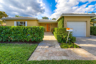 West Palm Beach Single Family Home For Sale: 310 Murray Road