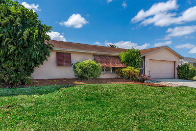 Royal Palm Beach Single Family Home Contingent: 118 Galiano Street
