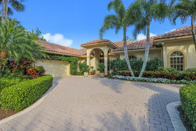 Palm Beach Gardens FL Single Family Home For Sale: $995,500