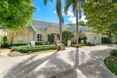 Mizner Court, Mizner Court Cond I, Royal Palm Yacht & Cc, Royal Palm Yacht & Country Club, Royal Palm Yacht And Country Club, Royal Palm Yacht And Country Club Sub In Pb 26 Pgs, Royal Palm Yacht And Country Club Subdivision Single Family Home For Sale: 2314 W Maya Palm Drive