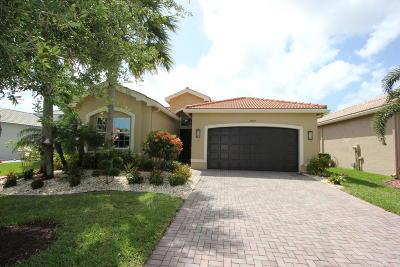 Boynton Beach Single Family Home For Sale: 10929 Carmelcove Circle