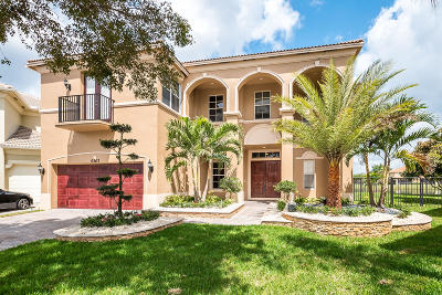 West Palm Beach Single Family Home For Sale: 6263 Paradise Cove
