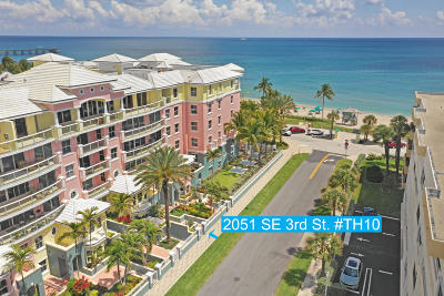 Deerfield Beach Townhouse For Sale: 2051 SE 3rd Street #Th10