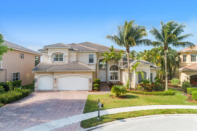 Boynton Beach Single Family Home Contingent: 8707 Flowersong Cove