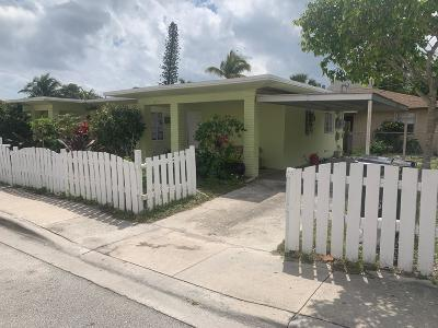Lake Worth Multi Family Home For Sale: 615 8th Avenue S