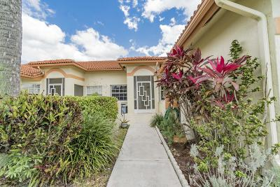 Delray Beach Single Family Home For Sale: 15358 W Tranquility Lake Drive